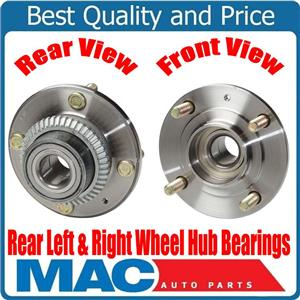 New Rear Wheel Hub Bearings for Mitsubishi Expo with Front Wheel Drive 92-95