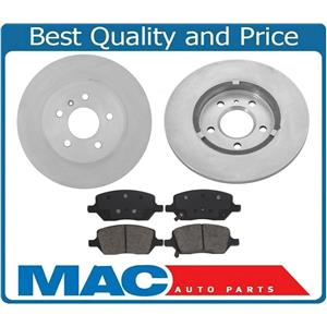 New Rear Brake Rotors & Pads for 2005 Terraza Uplander Montana All Wheel Drive