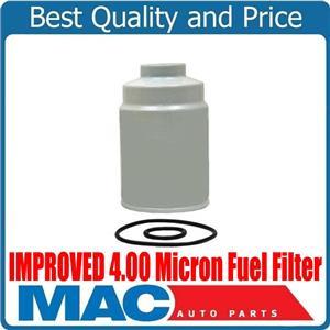 10-16 Silverado GM 6.6L Turbo Diesel IMPROVED 4.00 Micron Fuel Filter (1)