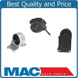 I30 96-99 & Maxima 95-03 3.0L 3.5L M/T Engine & Transmission Mounts 3pc Kit