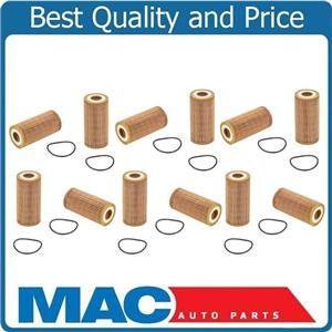 100% New Oil Filter for 15-17 Audi A3 2.0L 14-17 1.8L Beetle 1.8L 12 Pack