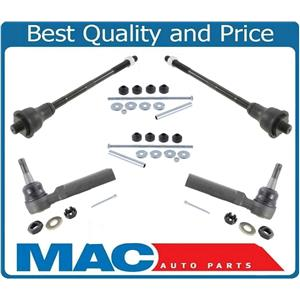 New Inner Outer Tie Rods Sway Bar Links for Chevrolet Tahoe 00-06 4 Wheel Drive