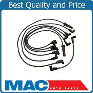 for 1995 4.3L Blazer S10 With Straight Dist Cap Boots New Spark Plug Wire Set