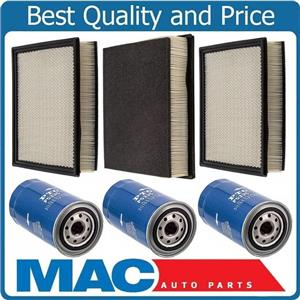 100% New Oil + Air Filter For 94-2002 Ram 2500 3500 Pick Up 5.9L Turbo Diesel 6p