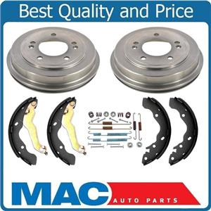 New Rear Drums Brake Shoes Springs Kit for Hyundai Elantra Built in Canada 07-08