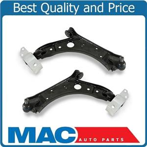 (2) 100% New CAST STEEL Front Lower Control Arms W/ Ball Joint 05-14 VW Jetta