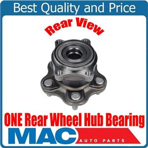 ONE 100% Brand New Torque Tested Rear Wheel Hub Bearing for Infiniti FX35 03-08