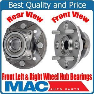 100% New Front Left & Right Wheel Hub Bearings for Honda Accord 2.2L 90-97