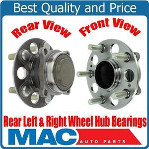 New Rear Left & Right Wheel Hub Bearings Front Wheel Drive for Acura RLX 14-19