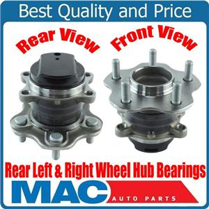 Rear Left & Right Wheel Hub Bearings Front Wheel Drive for Nissan Rouge 14-16