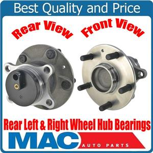 Rear Left & Right Wheel Hub Bearings Front Wheel Drive for Suzuki SX4 08-13 FWD