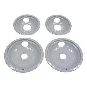 Range Drip Bowl Kit W10291024 works for Whirlpool Various Models