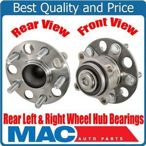 New Rear Left & Right Wheel Hub Bearings for Acura TL Front Wheel Drive 09-14