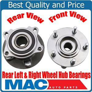 New Rear L+R Wheel Hub Bearings All Wheel Drive for Mitsubishi Outlander 14-16