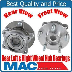 100% New Rear Wheel Hub Bearings for Mitsubishi Endeavor All Wheel Drive 10-11