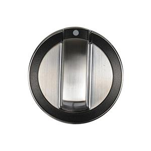 Knob Stainless Steel WPW10316664 works for Whirlpool Range Various Models
