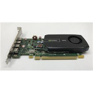 PNY Nvidia NVS 510 2GB DDR3 PCIe Quad Mini Display Port Video Card VCNVS510ATX-T