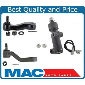 Greasable Idler Arm 4 Groved Pitman Arm 3pc for Chevrolet Silverado 2500 99-06
