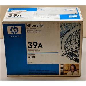 New Sealed Box HP 39A Q1339A Toner Cartridge LaserJet 4300