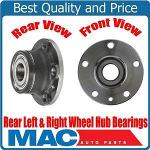 100% 2 New Rear Wheel Hub Bearings for Ram Promaster City 15-18 2.4L 68263146AA