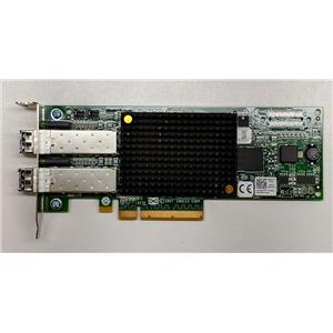 Dell Emulex LPE12002 8GB Dual Port Fibre Channel HBA PCI-e R7WP7 w/ SFPs