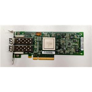Dell Qlogic QLE2562L-DEL HBA PCIe x8 8Gbps FC Dual Port RW9KF w/ SFPs