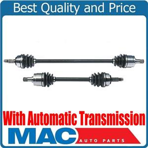 100% New Front Left & Right Automatic Transmission Axles for Honda Accord 86-89