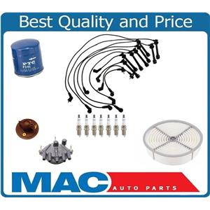 100% New Spark Plug Wires Cap Rotor 15pc Kit for Lexus LS400 SC400 1990-1994
