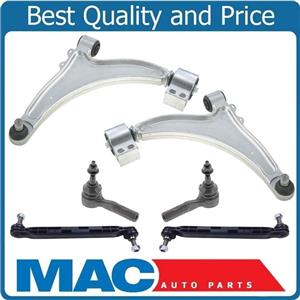New Front Lower Control Arms Sway Bar Links Tie Rods for Chevrolet Malibu 13-16