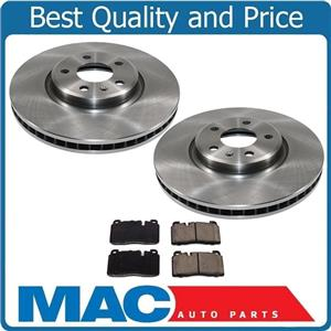 3pc Front Brake Rotors & Brake Pads All New for Audi Q5 2.0L Turbo 13-17 ONLY