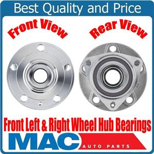 New FRONT Left & Right Wheel Hub Bearingsfor Audi A3 for VW GTi 15-17 8VO498625A