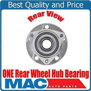 100% New ONE REAR Wheel Hub Bearing for Audi TT Quattro 16-17 8VO498625A