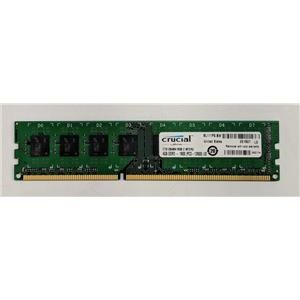 Crucial 4GB PC3-12800 DDR3-1600 non-ECC Unbuffered 1.5V CT51264BA160B.C16FER2