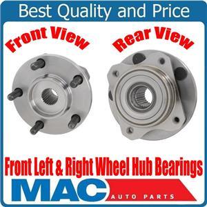 100% New Front Wheel Hub Bearings for Dodge Caravan 1989-1995 with 15 inch Rim