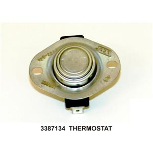 Dryer Cycling Thermostat WP3387134 3387134 works for Whirlpool Various Models