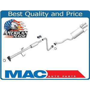 New Exhaust System Muffler MADE IN USA for Honda Accord EX 2.2L 2 & 4 Door 90-91