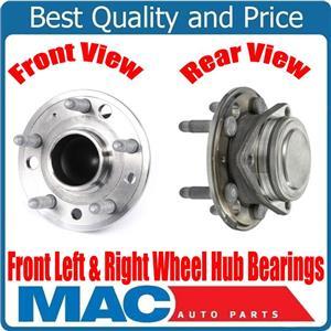 New FRONT Hub Bearings Rear Wheel Drive 14-17 for Cadillac CTS 2.0L 3.6L 4 Door