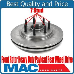 New Front 7 Stud Rotor Heavy Duty Payload Rear Wheel Drive for Ford F-150 04-08