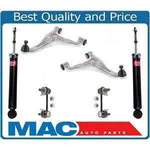 New Rear Upper Control Arms Links and Shocks Fits 03-08 Infiniti FX35 FX45