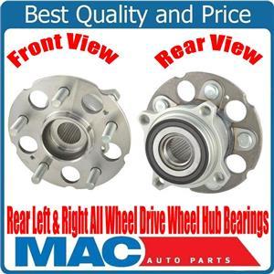 100% New Rear Left Right Wheel Hub Bearings All Wheel Drive for Honda CR-V 07-11