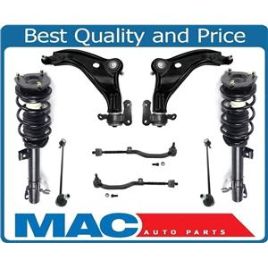Front Complete Struts Control Arms Tie Rods and Links Fits Mini Cooper 09-14