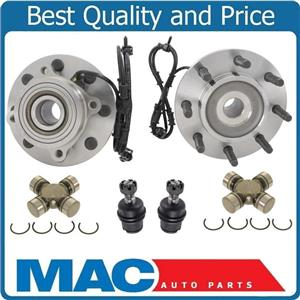 New Front Wheel Hubs U Joints Ball Joints for Dodge Ram 2500 03-05 4 Wheel Drive