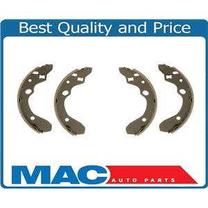 100% Brand New Rear Brake Shoes Fits 1995-1998 Mazda Protege W Rear Drums
