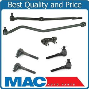 100% New Steering Drag Link Tie Rods Track Bar Sleeve for Jeep Cherokee 91-01