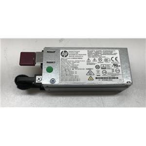 HPE 800W/900W Hot-Plug AC Power Supply 754376-001 DL120 G9 PSU
