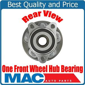 ONE 100% New FRONT Wheel Hub Bearing Assembly for Toyota Prius Prime 17-18