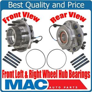 100% New FRONT Wheel Hub Bearings for Ford 4 Wheel Drive 4x4 F450 F550 11-16