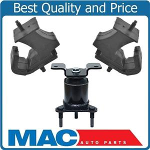 100% New Tested Engine Motor Mount Trans 3Pc Kit for Nissan Frontier 05-16 2.5L