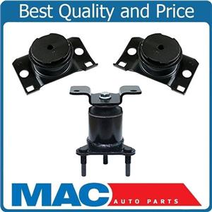 Engine Motor Mount Trans 3Pc Kit Rear Wheel Drive For Nissan Frontier 05-16 4.0L