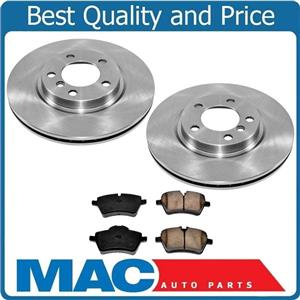 New Front Rotors & Brake Pads for Mini Cooper Countryman Turbo ONLY 11-16 No JCW